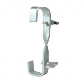 T21500 - Hook Clamp D/Ended (90 deg Twist - 150mm Centres)